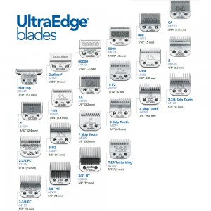 Andis Ultra Edge Hair Clipper Blades Set #UltraEdge