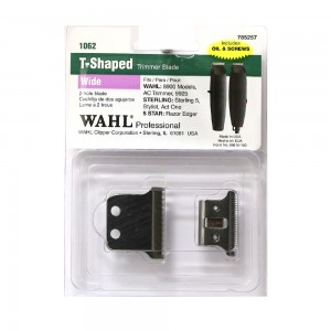 Wahl 2-Hole Wide Replacement Blade for AC Razor Edger Trimmer #1062