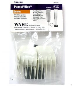 Wahl Peanut Attachment Combs White 4pc Set #3166-100