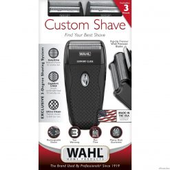 Wahl Custom Shave Dual Foil Rechargeable Shaver #7367-200