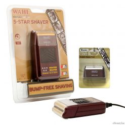 Wahl 5-Star Bump Free Cord/Cordless Shaver w/extra Replacement Foil