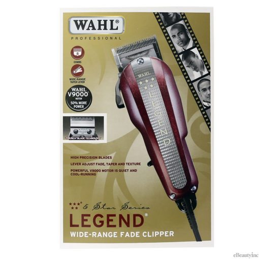 Wahl 5 Star Legend Hair Clipper for Face Taper Texture #8147