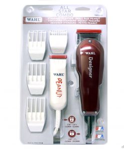 Wahl All Star Combo Designer+Peanut Hair Clipper/Trimmer #8331