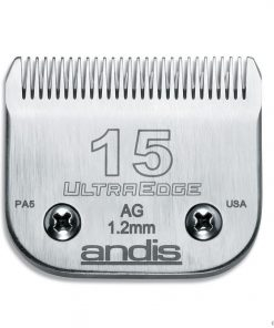 Andis UltraEdge Detachable Clipper Blade #15 Fit Oster 76 A5 - 64072