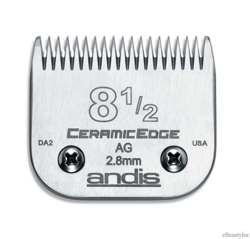 Andis Ceramic Edge Clipper Blade #8-1/2 Fit Oster 76 A5 - 64310