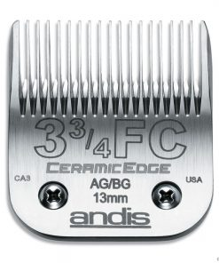 Andis Ceramic Edge Clipper Blade #3-3/4FC Fit Oster 76 A5 - 64435